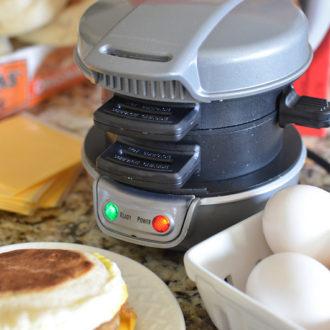 Hamilton Beach Breakfast Sandwich Maker [Giveaway!]