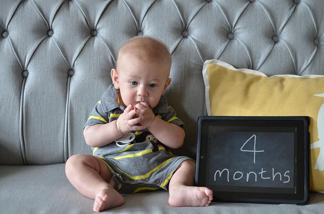 Simon 4 Months