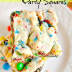 Sugar Cookie Party Squares