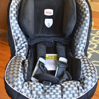 """Britax """"Safety You Can See"""" Car Seat Review and #Giveaway!"""