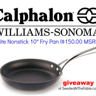 Calphalon Williams-Sonoma Elite Nonstick Cookware #Giveaway!