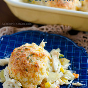 Cheddar Bay Biscuits Chicken Pot Pie