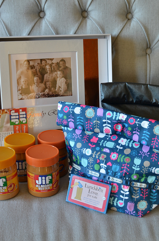 JIF Cashew Almond Butter Giveaway Package