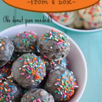 Pillsbury® Funfetti® Lil' Donut Kits {Celebrate the Lil' Things}
