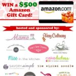 Win a $500 Amazon Gift Card! {Reader Appreciation Giveaway}