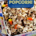 Candy Bar Popcorn by SeededAtTheTable.com