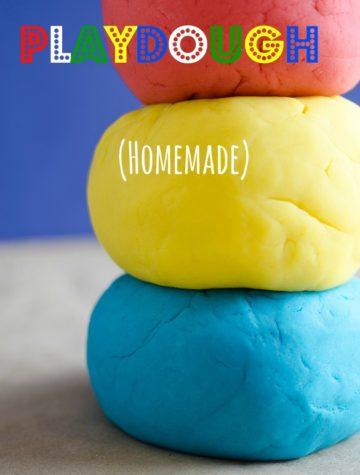 Easy DIY Homemade Playdough