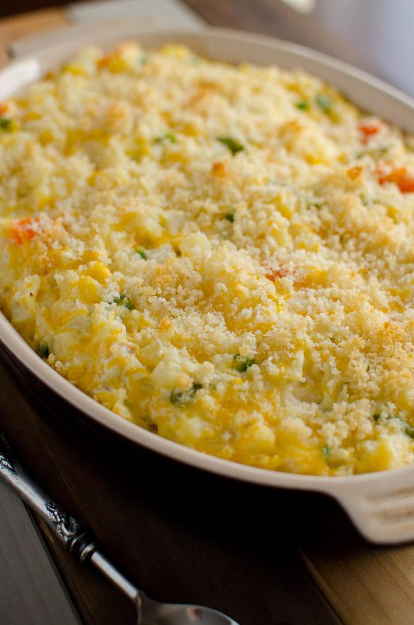 Potato Vegetable Casserole Supreme by SeededAtTheTable.com