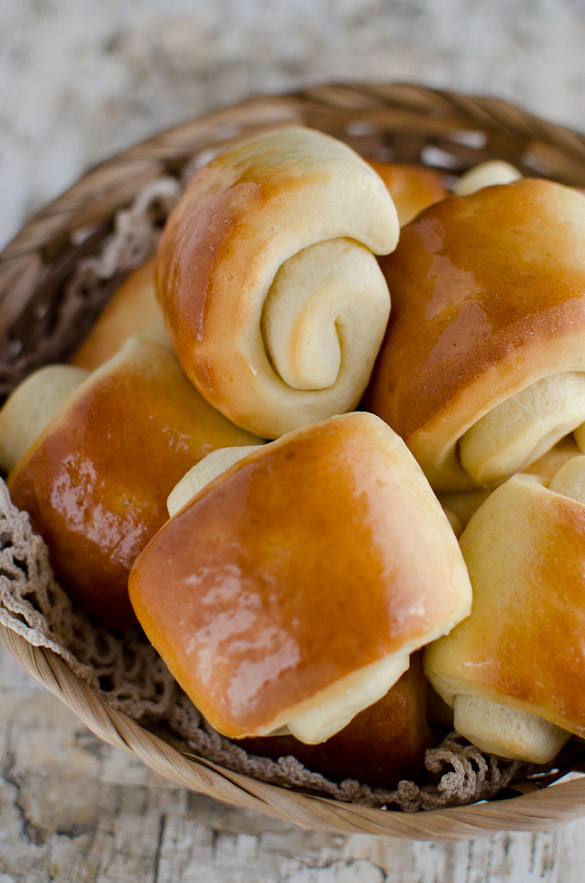 Buttery soft Lion House Dinner Rolls by SeededAtTheTable.com
