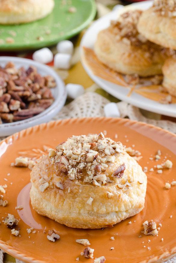 Sweet Potato Pie Donuts by SeededAtTheTable.com