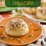 Sweet Potato Pie Pastry Donuts by SeededAtTheTable.com