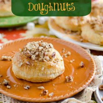 Sweet Potato Pie Pastry Doughnuts