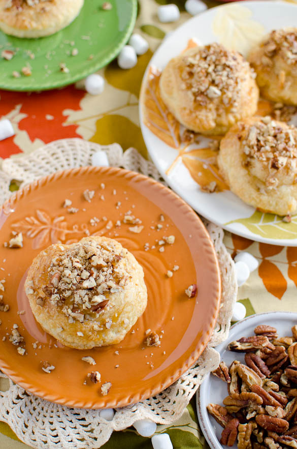 Sweet Potato Pie Filled Donuts by SeededAtTheTable.com