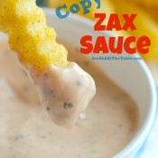 Copycat Zax Sauce for Dipping Chicken and Fries by SeededAtTheTable.com
