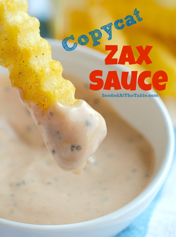 Title photo for Zax Sauce recipe.