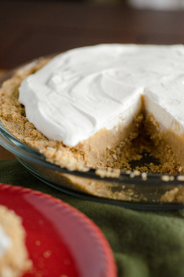 Butterscotch Pretzel Pie by SeededAtTheTable.com