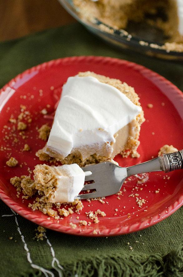 Butterscotch Pretzel Pie by SeededAtTheTable.com