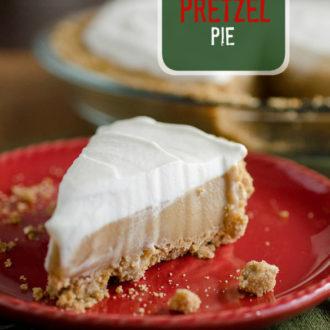 Butterscotch Pretzel Pie