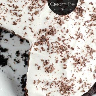 Double-Chocolate Cream Pie by SeededAtTheTable.com