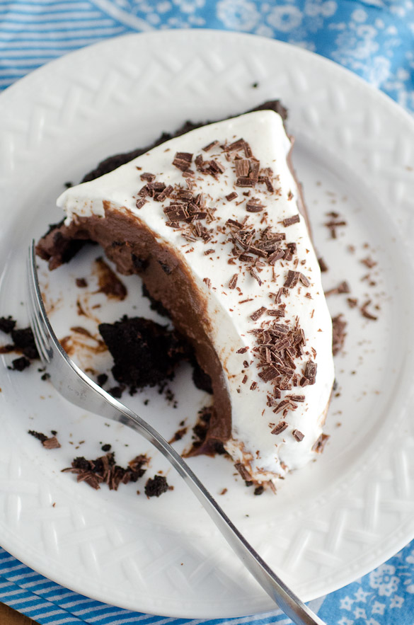 Double-Chocolate Cream Pie by SeededAtTheTable.com