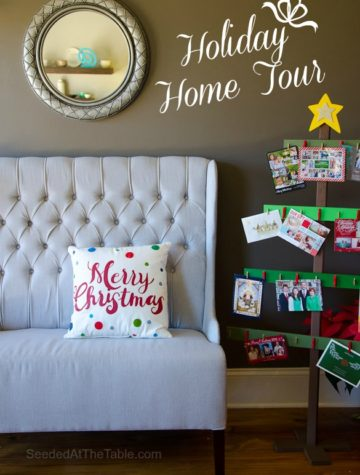 Holiday Home Tour by SeededAtTheTable.com