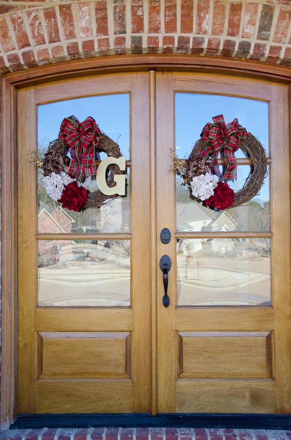 DIY Christmas Wreaths for $20 Each by SeededAtTheTable.com
