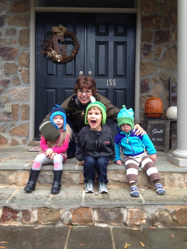 Thanksgiving in Winston-Salem with Nana