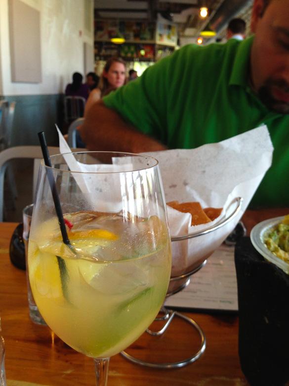 Babalu Tacos & Tapas - White Sangria, Jackson, MS