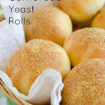 Cornbread Yeast Rolls, perfect for barbecue sandwiches by SeededAtTheTable.com (copycat Dickey's Barbecue Pit)
