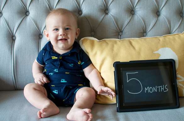 Simon 5 Months