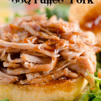 Slow Cooker BBQ Pulled Pork by SeededAtTheTable.com