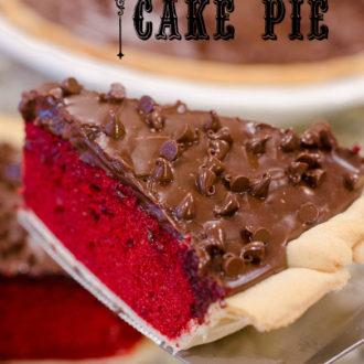 Pinterest Party: Red Velvet Cake Pie