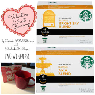 [Giveaway!] Starbucks K-Cups® Valentine's Day Treat
