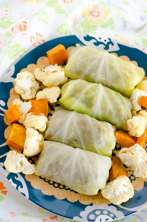 Middle Eastern Stuffed Cabbage Rolls by SeededAtTheTable.com