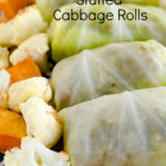 Middle Eastern Style Stuffed Cabbage Rolls