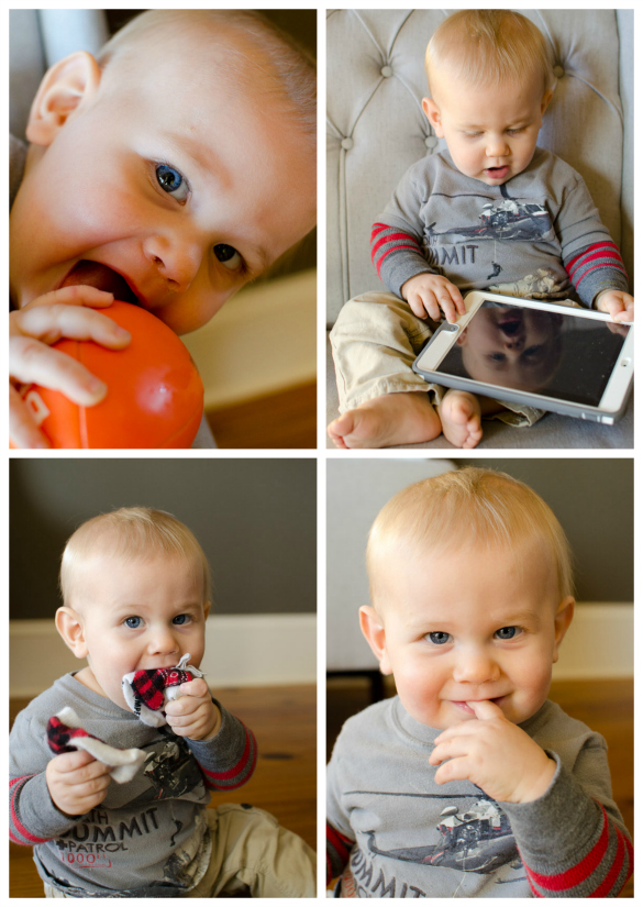 Simon 11 Month Collage