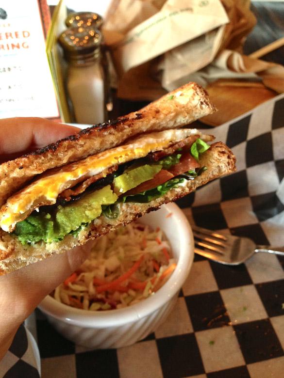 Tablefields BLEAT Sandwich (Bacon, Lettuce, Egg, Avocado, Tomato)