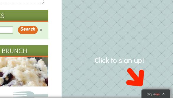 CliqueMe Example @Seededtable