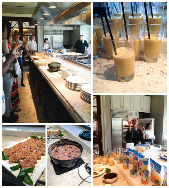 DOLE Breakfast in the Wellness Kitchen via @SeededTable @dolefood #dolesummit @fswestlake