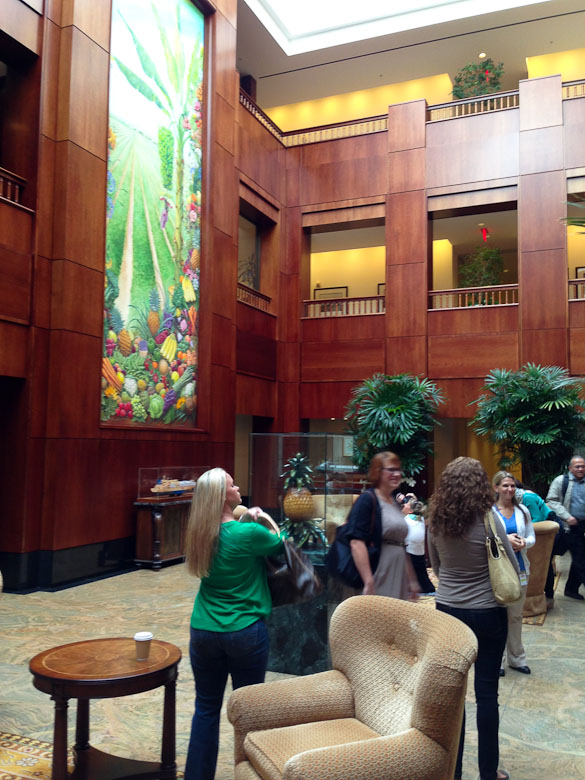 Dole Blogger Summit, DOLE Headquarters by @SeededTable @dolefood