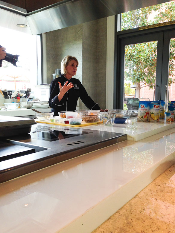 DOLE Wellness Kitchen Cooking Demo via @SeededTable @dolefood @fswestlake #dolesummit