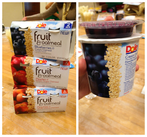 DOLE Fruit & Oatmeal by @SeededTable @dolefood #dolesummit