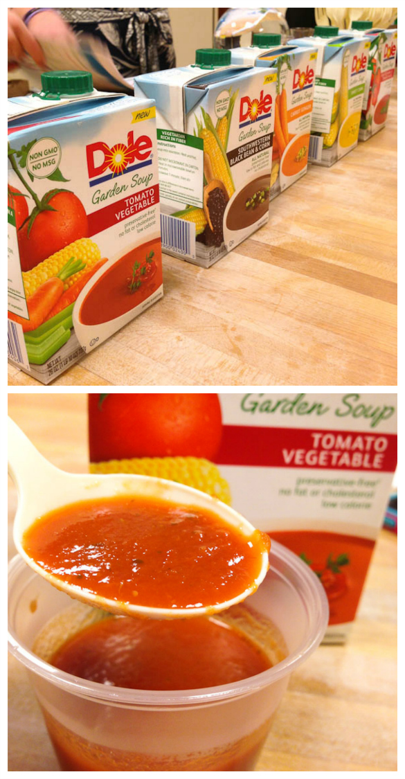 DOLE Garden Soup - new from @dolefood via @SeededTable #dolesummit