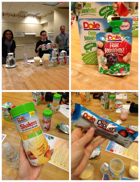 DOLE Packed Food Products from DOLE Blogger Summit @dolefood #dolesummit