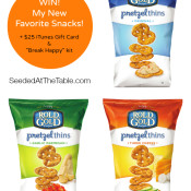 WIN! Six big bags of new Rold Gold Pretzel Thins + $25 iTunes Gift Card! @SeededTable #giveaway
