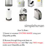 Introducing A New Feature + A SimpleHuman Giveaway ($450 Value)!