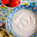 Strawberry Cream Fruit Dip