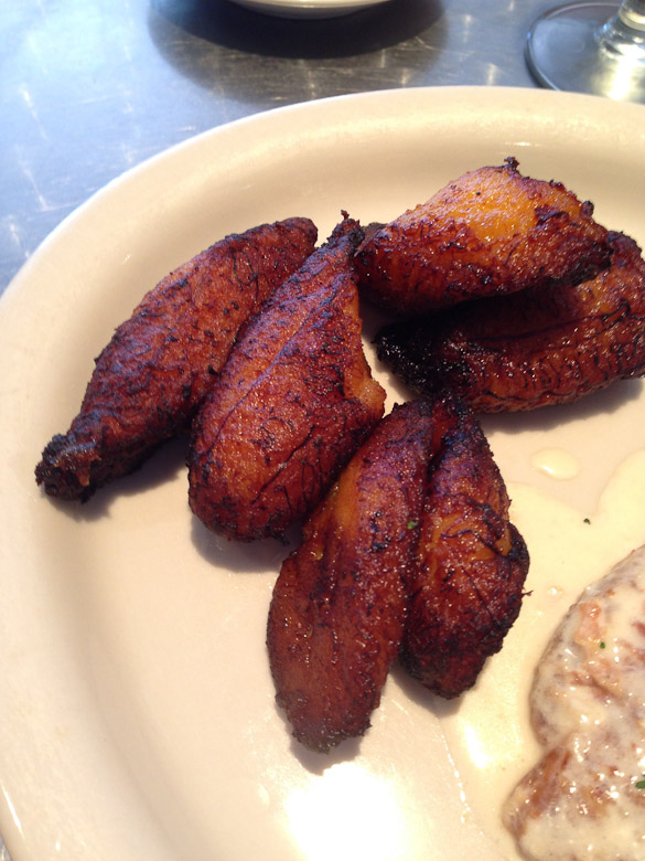 Plantains at Charlotte Bakery, Miami Beach