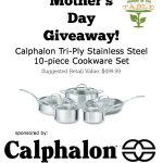 Calphalon Try-Ply Stainless Steel 10-piece Cookware Set [Mother's Day Giveaway!]