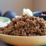 Taco Meat That Feeds A Crowd (Freezer Friendly)